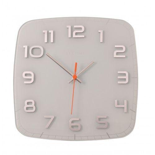 Nextime Zegar ścienny classy 30 x 30 cm, biały (8816 wi) (8717713010630)