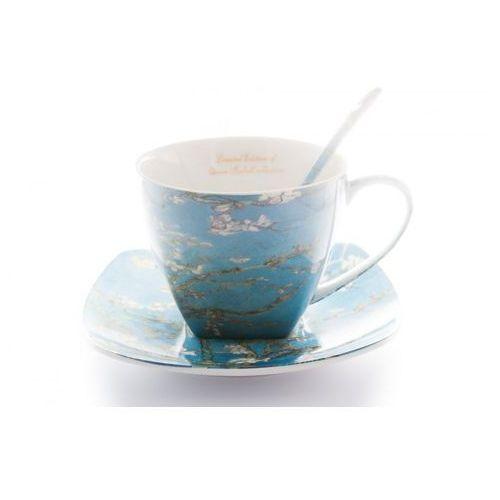 Queen isabell 2 filiżanki do kawy van gogh porcelanowe prezent