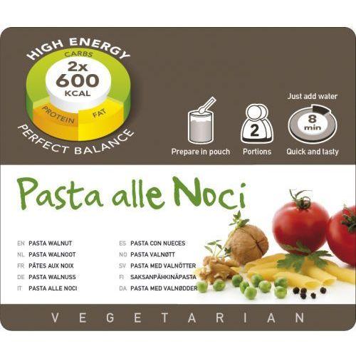Adventure food pasta alle noci żywność kempingowa podwójna porcja posiłki wegetariańskie (8717624622366)
