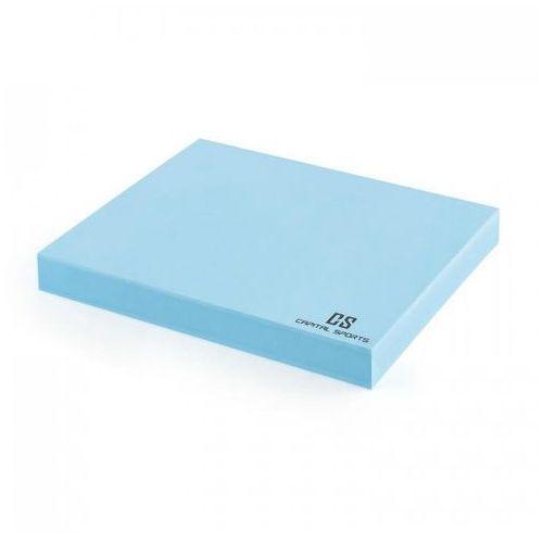 Capital sports Equipoma mata do balansowania 45,5 x 5 x 38,5 cm eva jasnoniebieska