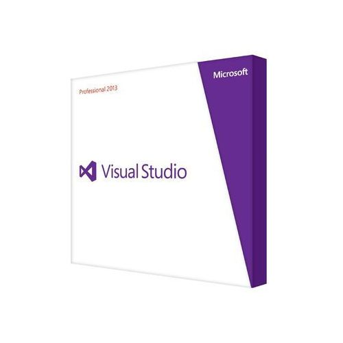 Microsoft visual studio pro 2013 english dvd (0885370610499)