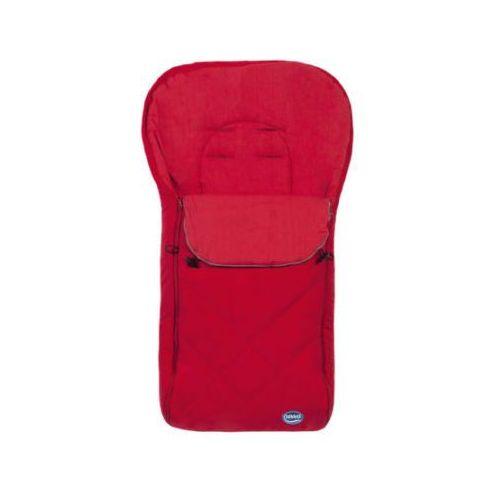 duży śpiworek letni z logo kolor czerwony marki Urra