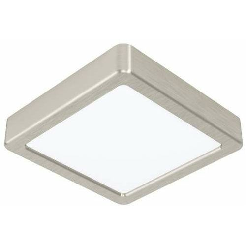 Eglo Fueva 5 99239 plafon lampa sufitowa 1x10.5W LED nikiel, kolor Nikiel