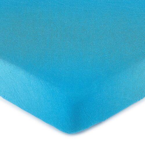 4Home Jersey prześcieradło niebieski, 70 x 140 cm, 70 x 140 cm, 229002