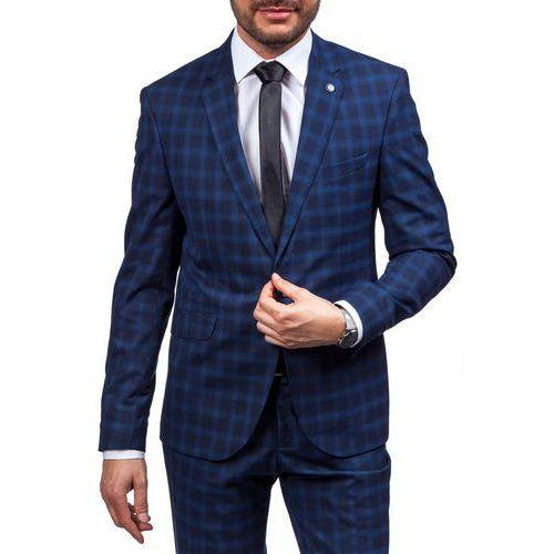 Granatowy garnitur męski Bolf 5005-4 marki BOLF