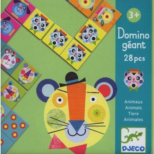 Domino Gigant Zwierzeta z kategorii Gry planszowe