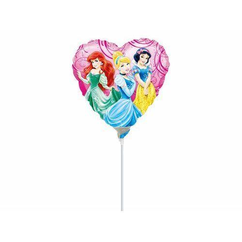 Balon foliowy do patyka princess - 23 cm - 1 szt marki Amscan
