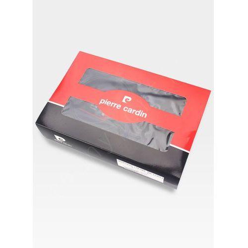 Zestaw prezentowy męski portfel pasek prezent skórzany oryginalny marki Pierre cardin