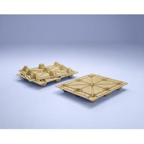 Paleta kontenerowa z prasowanego drewna, z 9 nogami, nośność 1250 kg, dł. x szer marki Inka paletten