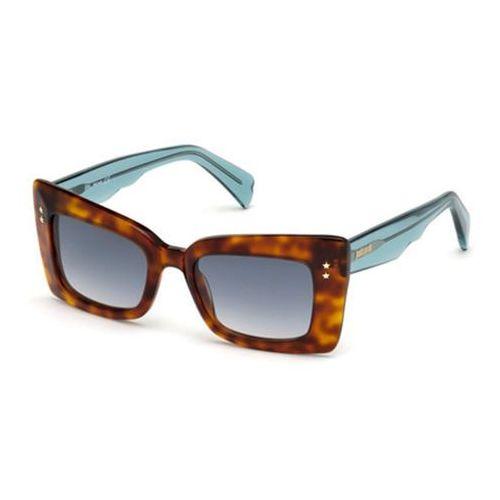 Okulary Słoneczne Just Cavalli JC 819S 53W, kolor żółty