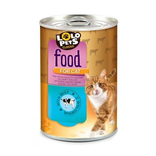 Lolo Pets Food for CAT wołowina 410g
