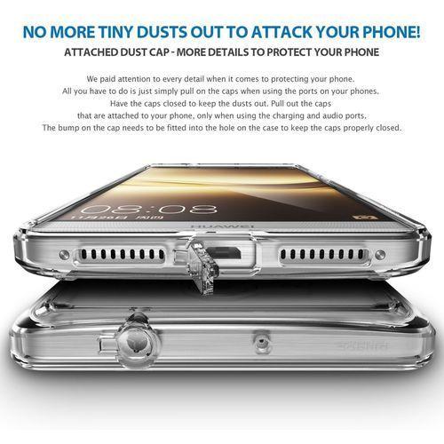 Etui Ringke Fusion do Huawei Mate 8 Smoke Black (8809478825397)