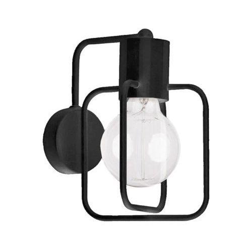 Sigma Aura Kwadrat 31116 kinkiet lampa ścienna 1x60W E27 czarny