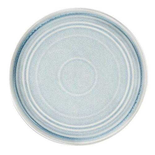 Olympia Jasnoniebieski płaski okrągły talerz cavolo 270mm (zestaw 4 sztuk)