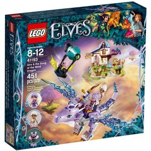 41193 ARIA I PIEŚŃ SMOKA WIATRU (Aira & the Song of the Wind Dragon) KLOCKI LEGO ELVES