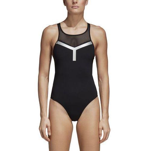 Strój do pływania adidas Tape Graphic CV3624, kolor czarny
