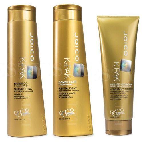 Joico k-pak | zestaw regenerujący: szampon 300ml + odżywka 300ml + terapia nawilżająca 250ml