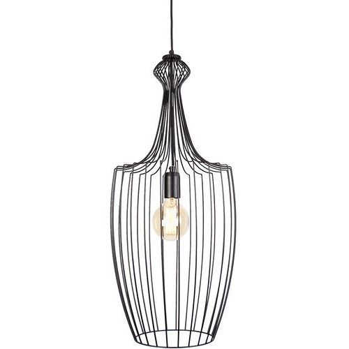 Nowodvorski Luksor 8847 Lampa wisząca zwis 1x60W E27 Czarna, kolor Czarny