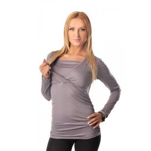 Tunika ciążowa KRAYA GREY, kolor szary