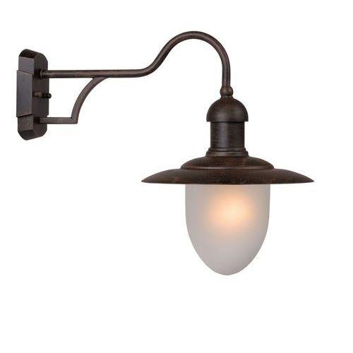 Nostalgiczna zewnętrzna lampa ścienna cottage marki Lucide