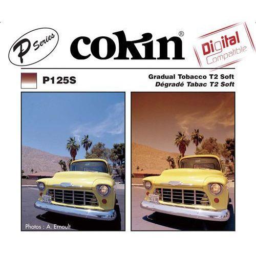 p125s połówkowy brązowy t2 soft systemu cokin p wyprodukowany przez Cokin