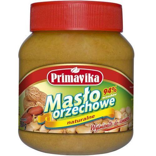 Masło orzechowe naturalne 350g od producenta Primavika