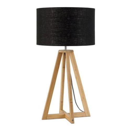 EVEREST-Lampa stojaca Bambus & Len Naturalny Wys.34cm (8716248074681)