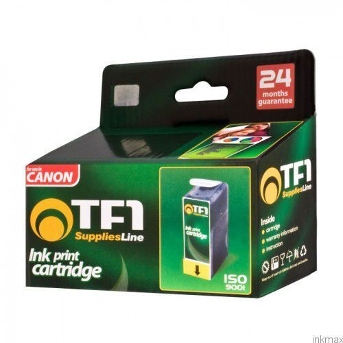 Zestaw 5 tuszy TFO Canon PGi550 CLi551 XL czarny duży + czarny mały + niebieski + czerwony + żółty