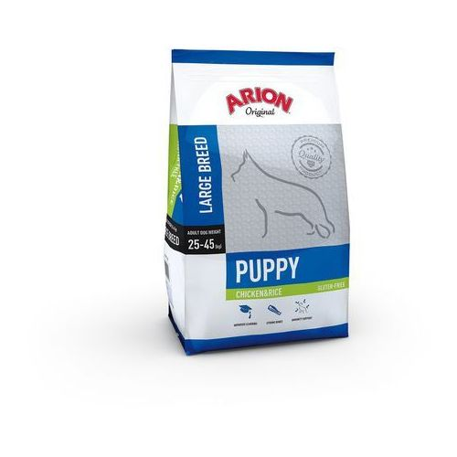 Arion original puppy large breed chicken&rice 12kg | darmowa dostawa - 12000 (5414970055116)