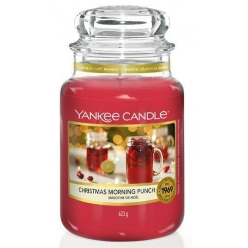 Yankee candle świeca christmas morning punch 623g (5038581102672)