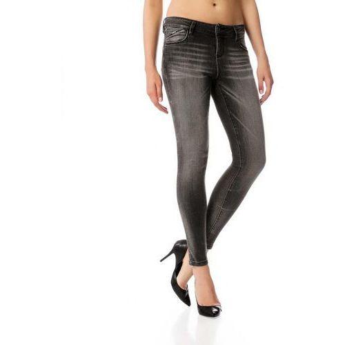 Timeout jeansy damskie 30/30 szary, jeansy
