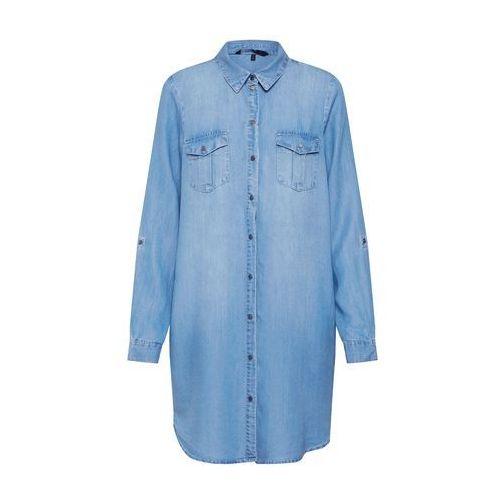 VERO MODA Sukienka koszulowa 'Silla' niebieski denim, 10184172