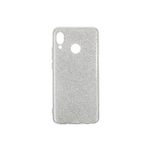 Forcell shining case Huawei nova 3 - etui na telefon forcell shining - srebrny