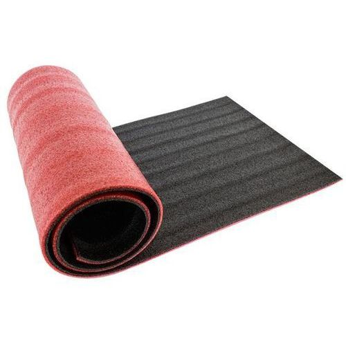 Mata Fitness 180x50cm czerwona