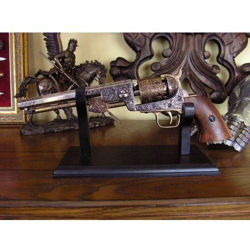 Hiszpania Drewniany stojak na większe modele broni palnej (11001)