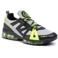 Sneakersy PLEIN SPORT - Runner Original A19S USC0006 SXV002N Yellow/Black 0902, kolor szary