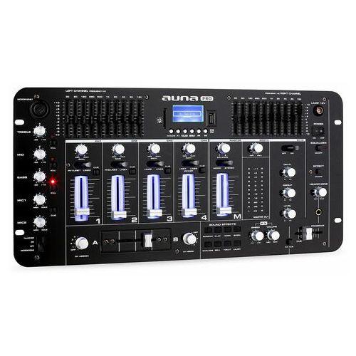 Auna Pro 4-kanałowy stół mikserski resident dj Kemistry 3 B Bluetooth (4260365794730)