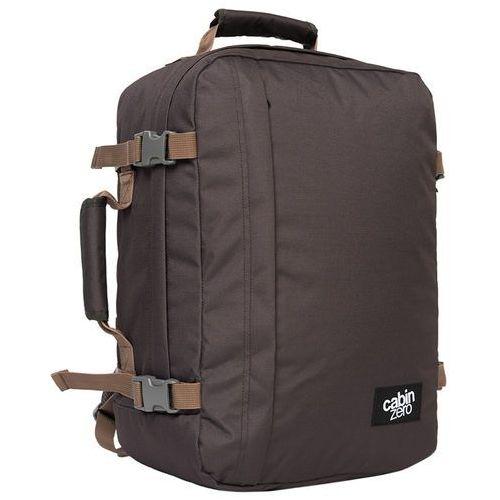 CabinZero Classic 36L torba podróżna podręczna / kabinowa / plecak / brązowy - Black Sand, kolor brązowy
