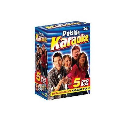 Ryszard music Polskie karaoke vol. 2 - mega kolekcja karaoke (5 płyt dvd)