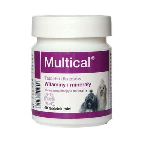 DOLFOS Multical - preparat mineralno - witaminowy dla psów MINI 90tab.