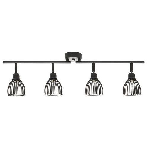 Lampa sufitowa czarna golok marki Beliani