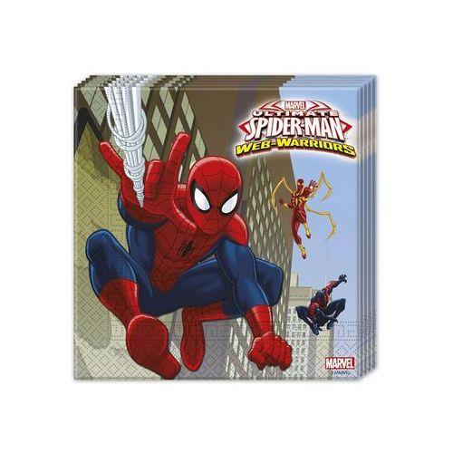 Serwetki spiderman ultimate 33x33cm 20szt marki Twojestroje.pl