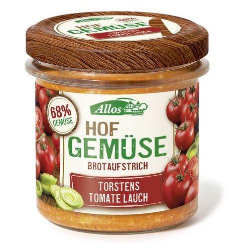 Pasta warzywna z pomidorem i porem bio 135g. - marki Allos