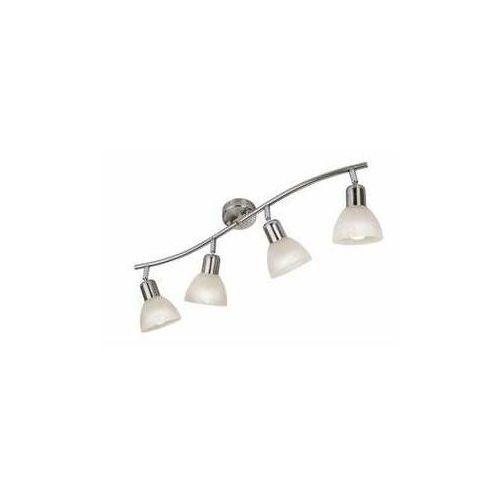 Listwa lampa sufitowa plafon daytona 4x3w e14 led nikiel mat 820304-07 marki Reality