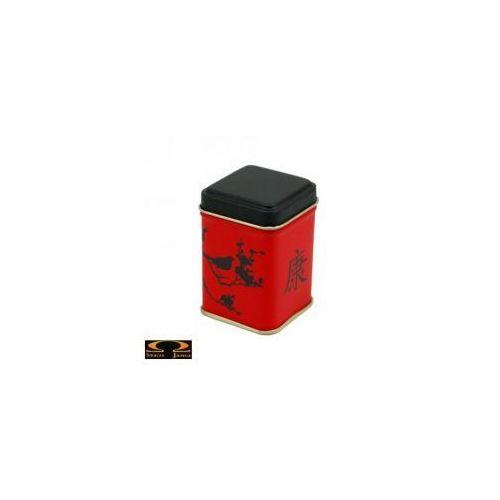 Metalowa puszka na herbatę - Czerwony słowik - 50g