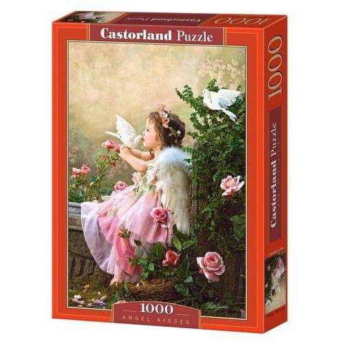 Puzzle 1000 Aniołek w różowej sukieneczce CASTOR (5904438102297)