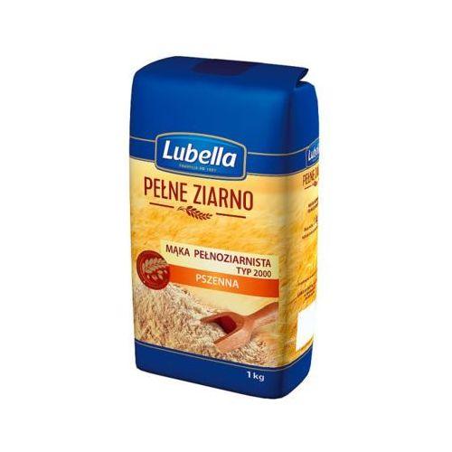 1kg pełne ziarno mąka pełnoziarnista pszenna marki Lubella
