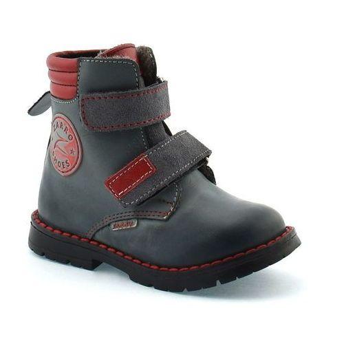 Buty zimowe dla dzieci Zarro 98/04, kolor czerwony