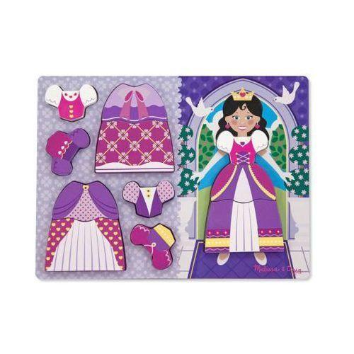 Puzzle drewniane ubierz księżniczkę marki Melissa & doug