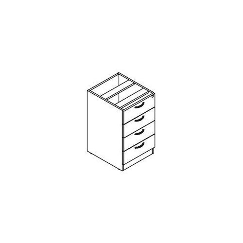 Svenbox Kontener stacjonarny kh26, wymiary: 42,8x49,5x73 cm